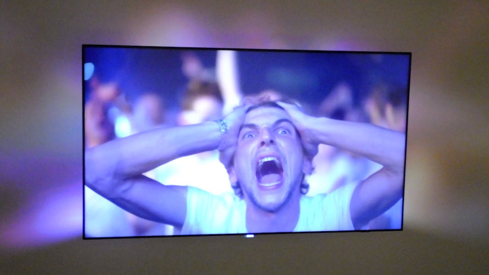 My Eyes Can't Handle the Insanity of the Philips AmbiLux UHD TV