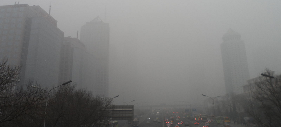 China Cleaned Up Beijing's Smog For Its Military Parade, But Of Course It Didn't Last