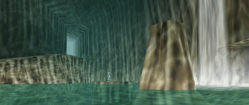 Ocarina of Time's Zora Cave Gets a Next-Gen Facelift