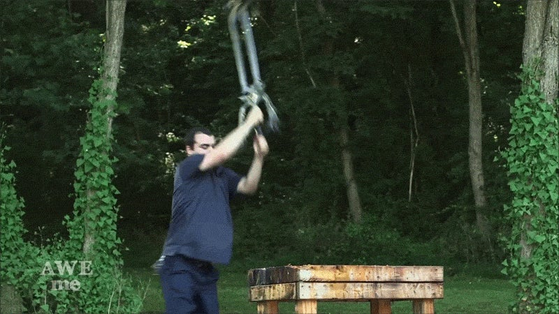 Real-Life Kingdom Hearts Keyblade Is Impractical, Smashes Stuff Anyway