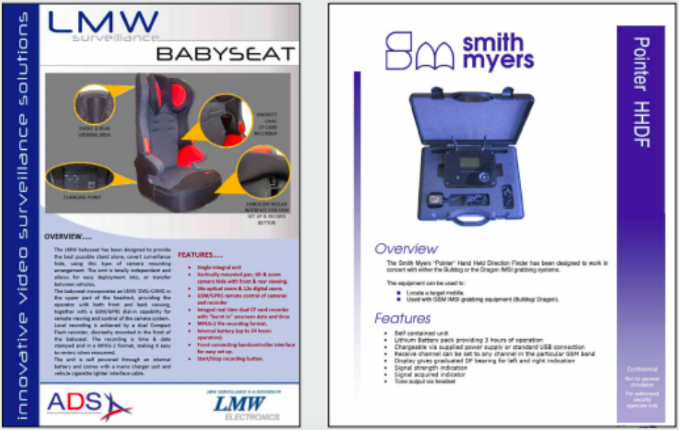 This Fake Baby Car Seat Is Designed To Help Governments Spy On People