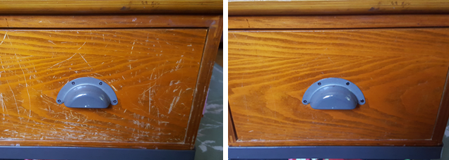 Fix Scratches in Wood Furniture with Olive Oil and Vinegar