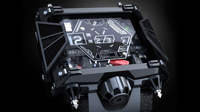 A $US28,500 Watch For Obscenely Well-Funded Star Wars Fans