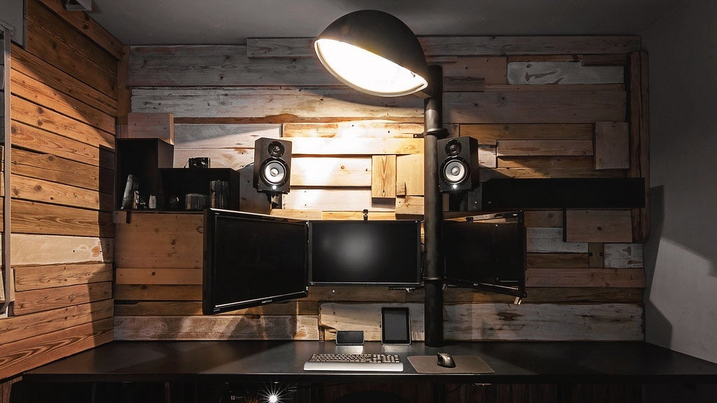 The Reclaimed Wood Workspace