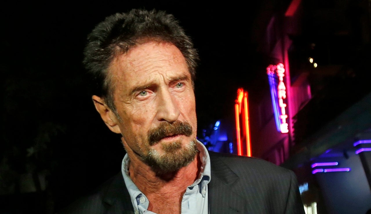 John McAfee Is Starting a New Political Party For His Presidential Run