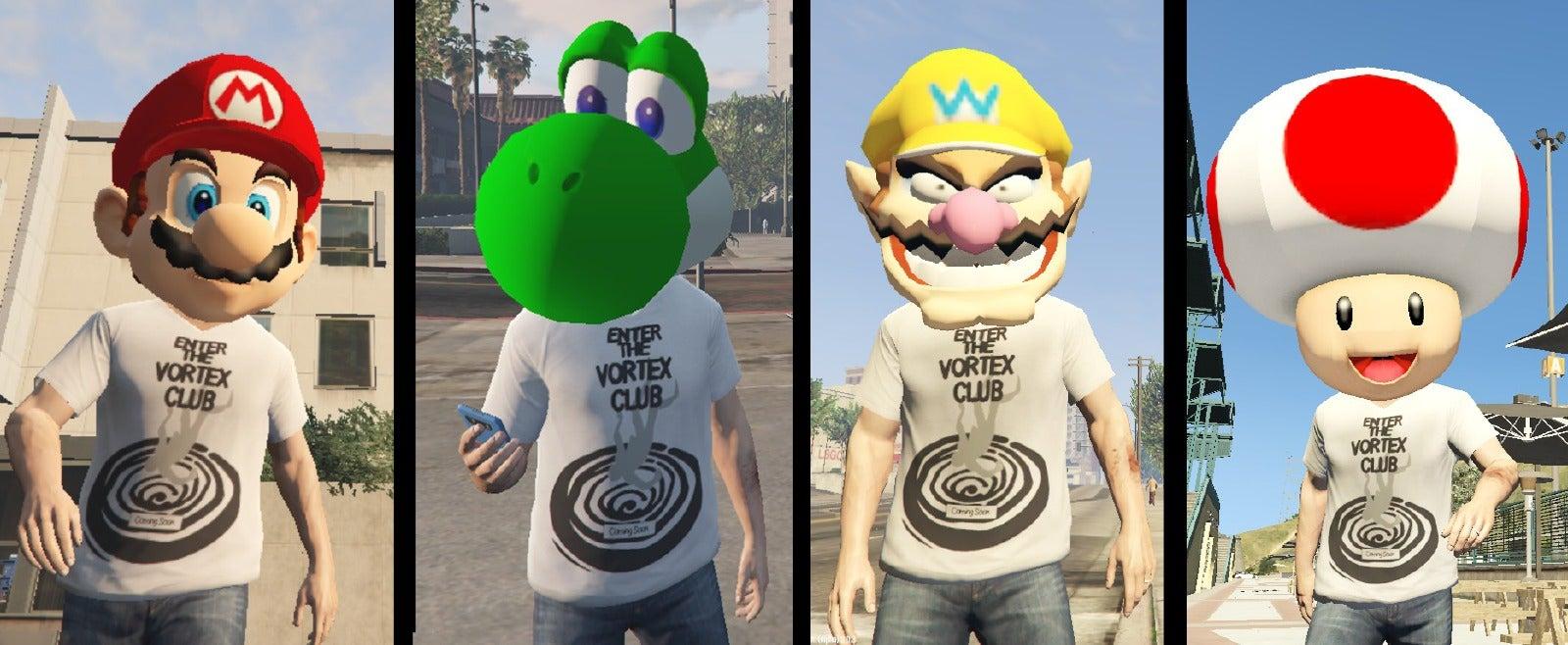 Mario Mod For GTA V Turns Nintendo Icon Into Gun-Crazy Jerk