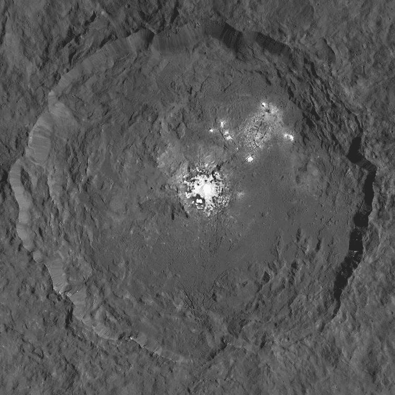 We Can Now See Ceres' Mysterious Bright Spots In a Lot More Detail