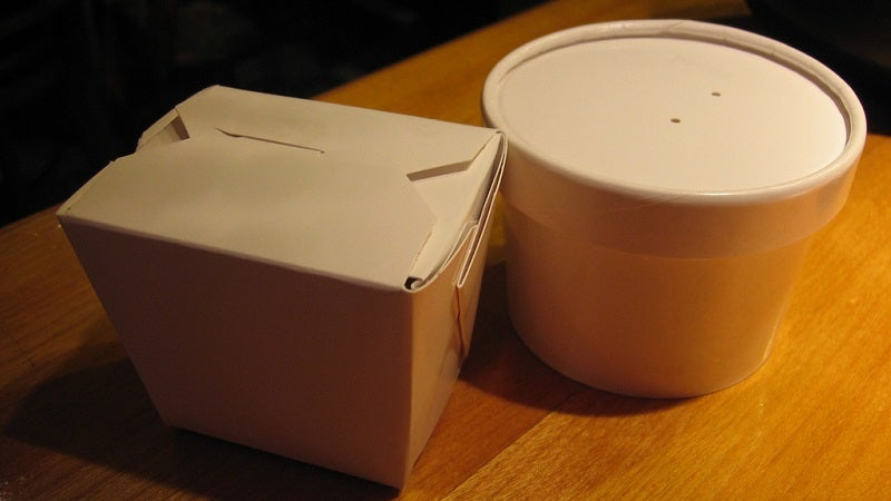 Keep Takeout Food Insulated in the Microwave Until You're Ready for It