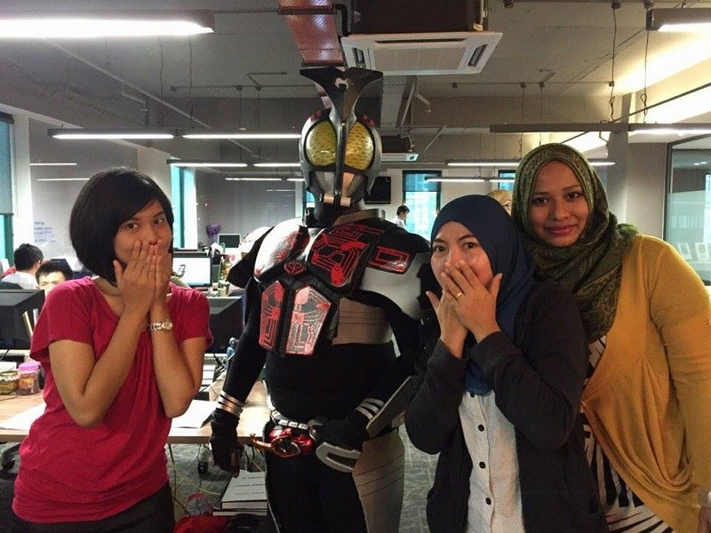 Cosplay Makes Your Last Day of Work Better