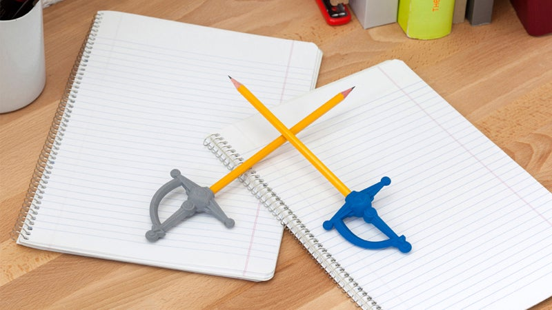 These Erasers Turn Pens and Pencils Into Swords