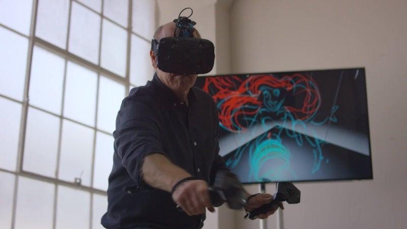 Watch Disney Artist Glen Keane Draw the Little Mermaid in Virtual Reality