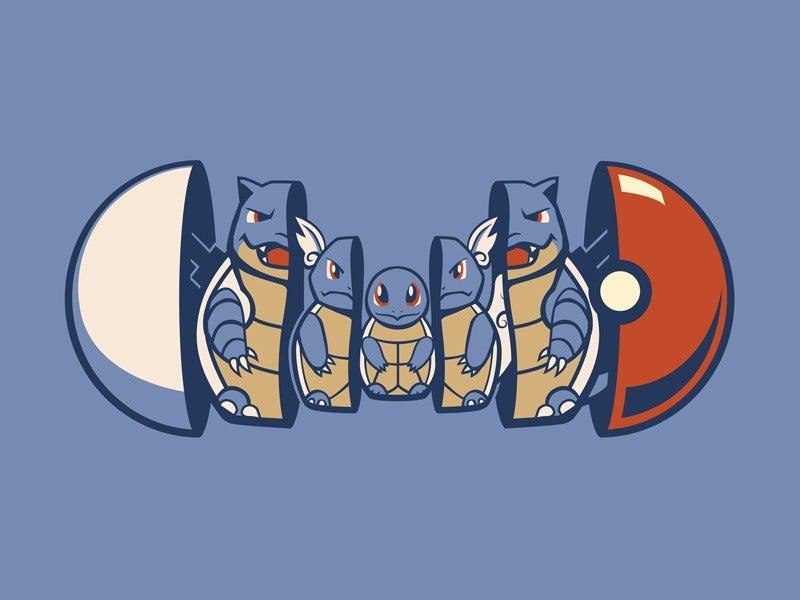 I'd Have Loved Some Pokémon Nesting Dolls Growing Up