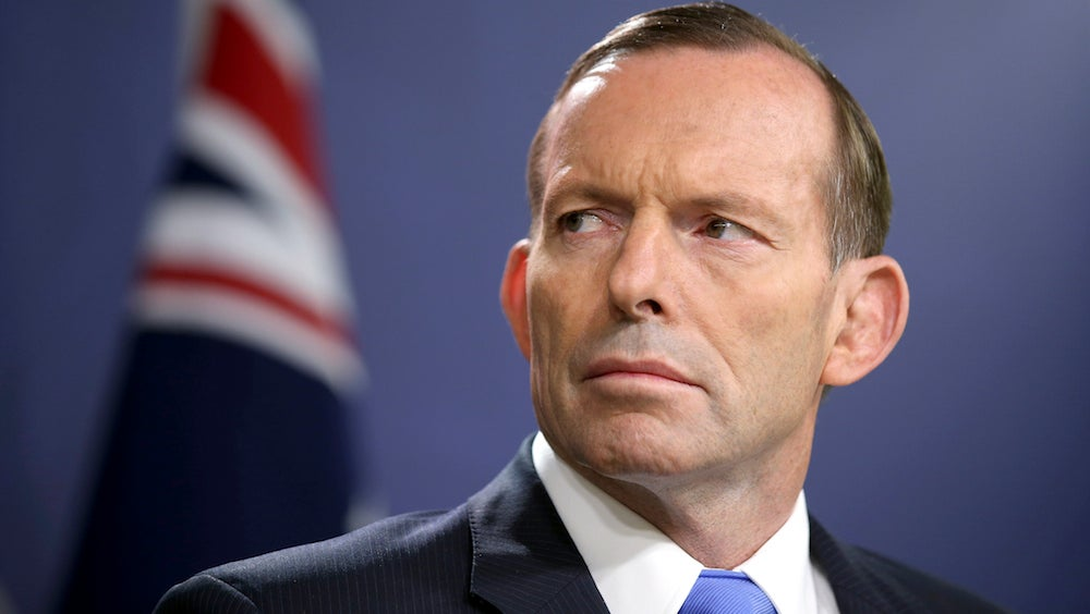 Climate Change-Denying Prime Minister Tony Abbott Has Been Ousted