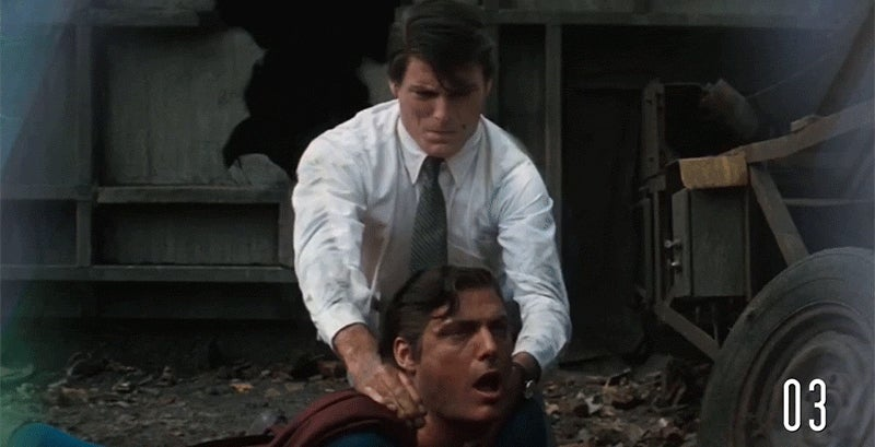 How many people has Superman killed in his movies?
