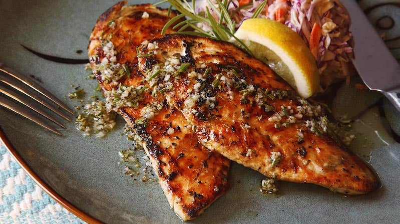 Grill Juicy, Flavorful Chicken Cutlets in Five Minutes