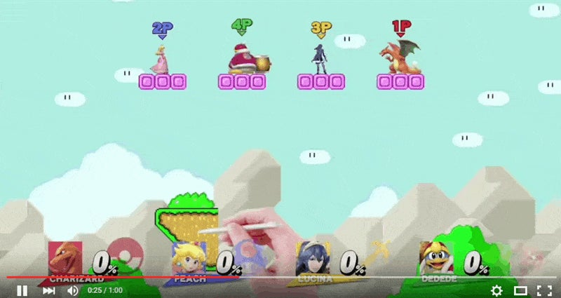 Mario Maker Comes To Smash Bros., Looks Like Complete Chaos