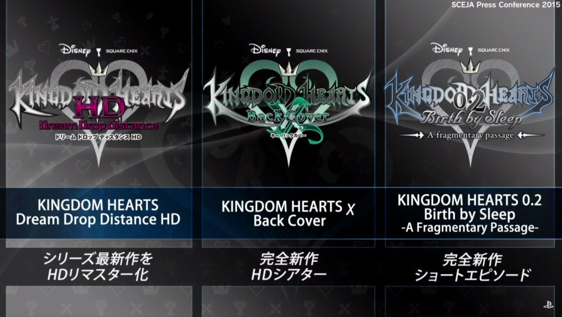 Kingdom Hearts HD II.8 Announced