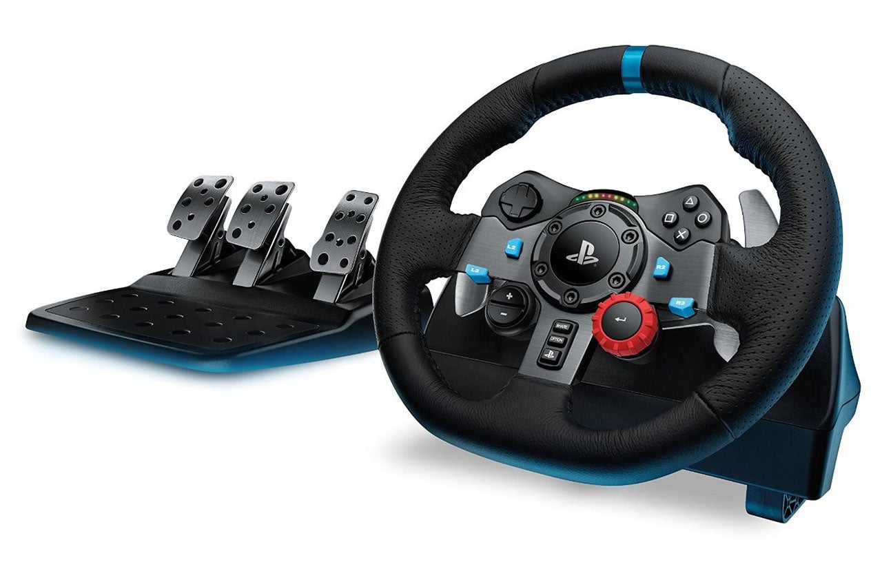 Logitech G29 Driving Force Racing Wheel For PS4: The Kotaku Review