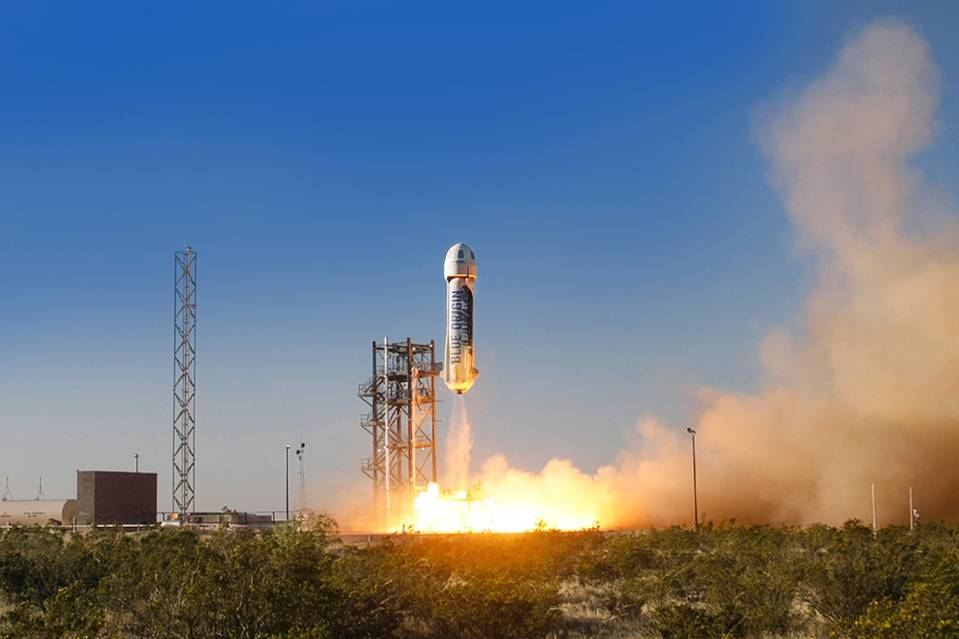 Jeff Bezos' Space Company Now Has a Launchpad
