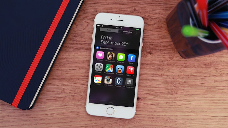 Launch Center Pro Now Launches Apps From The Notification Center