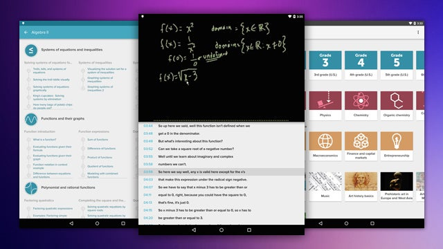 Khan Academy Beta Comes to Android, Brings Progress Tracking, Transcripts