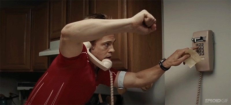 Super fun video mixes phone call scenes from movies into one long game of telephone