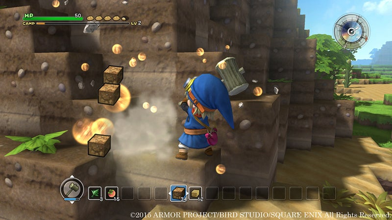 Dragon Quest Builders Cannot Deny its Minecraft DNA