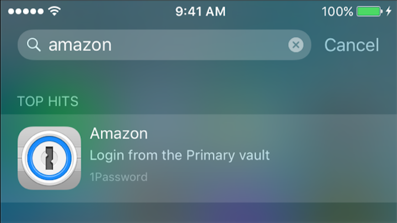 1Password for iOS Adds Multitasking and Spotlight Search Support