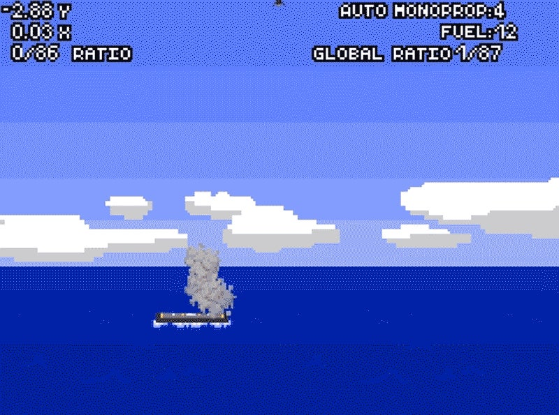 Try Landing the SpaceX Falcon 9 Yourself With This Flash Game (It's Impossible)