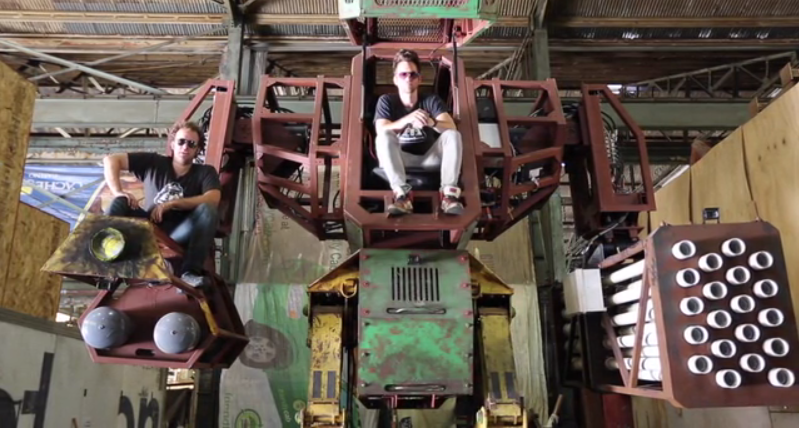 This Company Wants to Start a New Sports League with Giant Fighting Robots