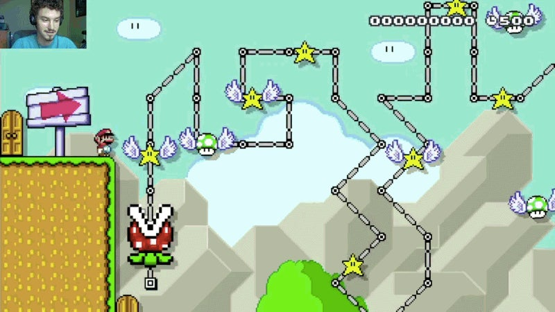 Beating This Mario Maker Level Felt Like Defeating A Dark Souls Boss