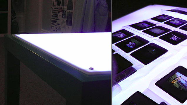 Turn an IKEA Lack Table into a Light Box