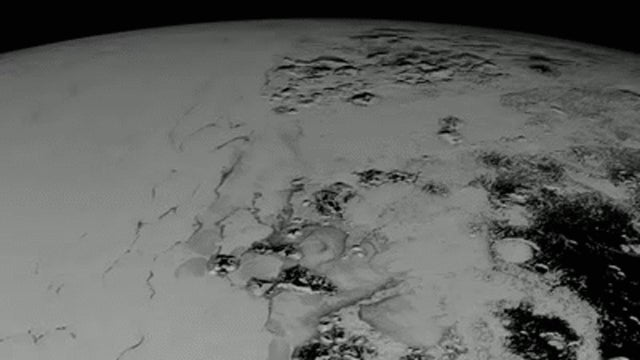 Fly Low Over Pluto in This Incredible Aerial Tour