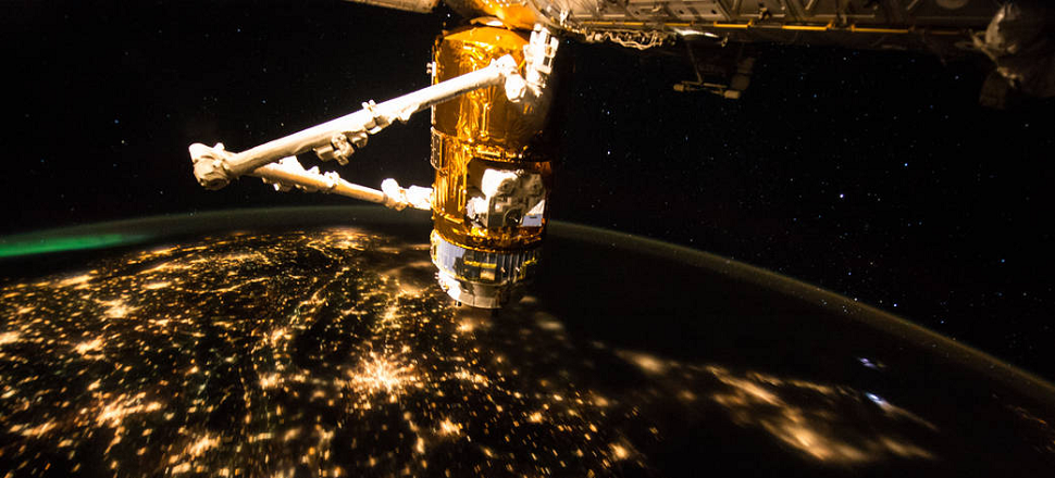 Watch the ISS Zoom Over the East Coast