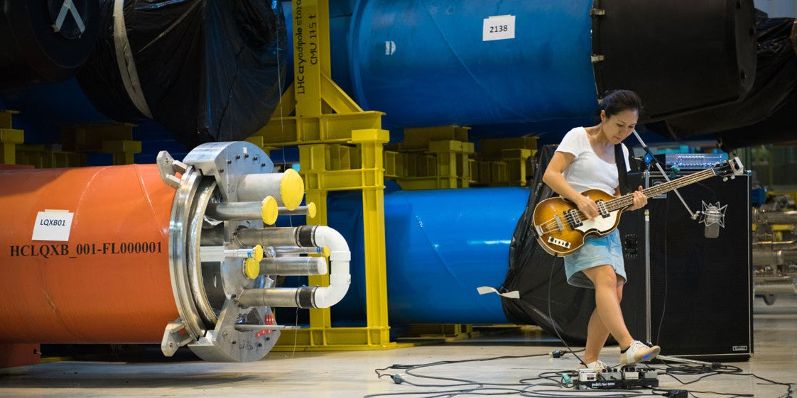 This Is What Happens When an Indie Band Experiments at the LHC