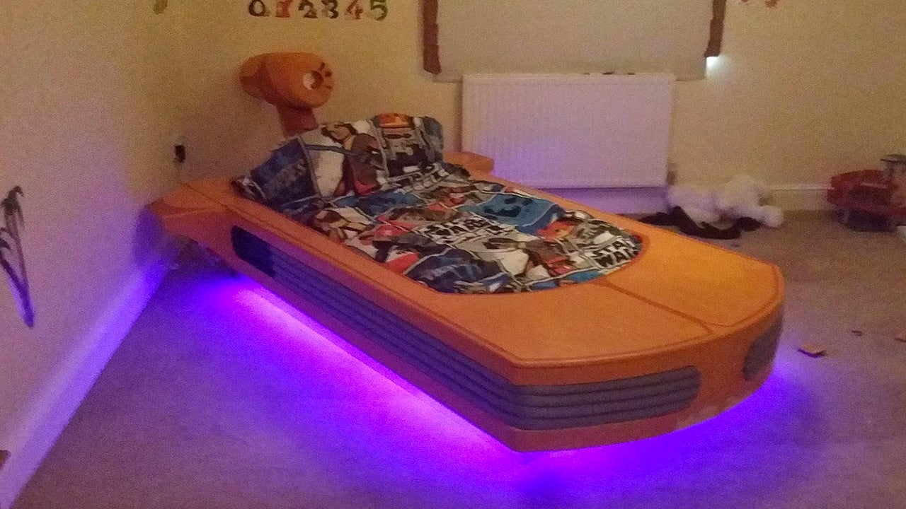 Nap on This Wonderful Landspeeder Bed All the Way to Tosche Station