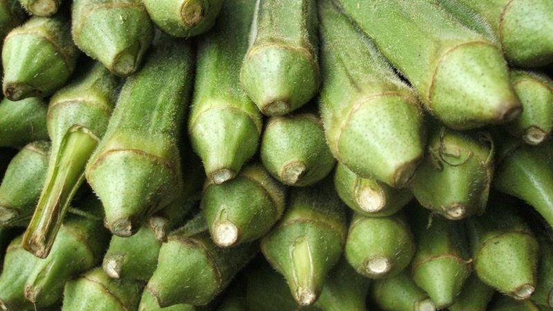 Avoid Slimy Okra by Boiling Before You Chop