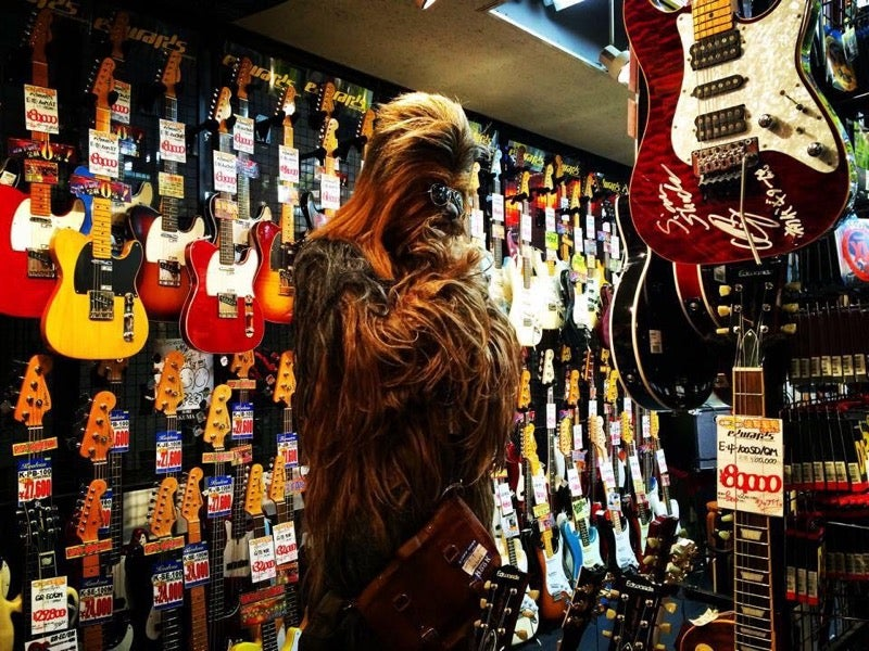 Chewbacca's Secret Life in Japan