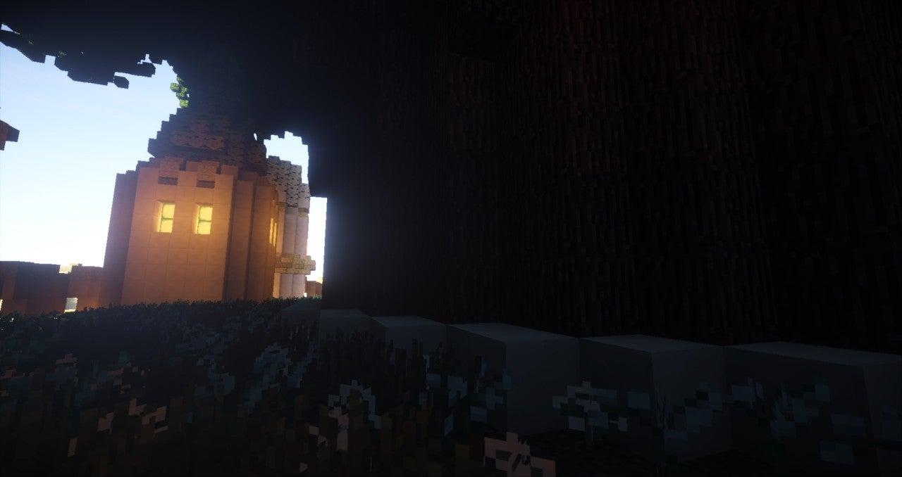 Minecraft, You Do a Pretty Good Laputa