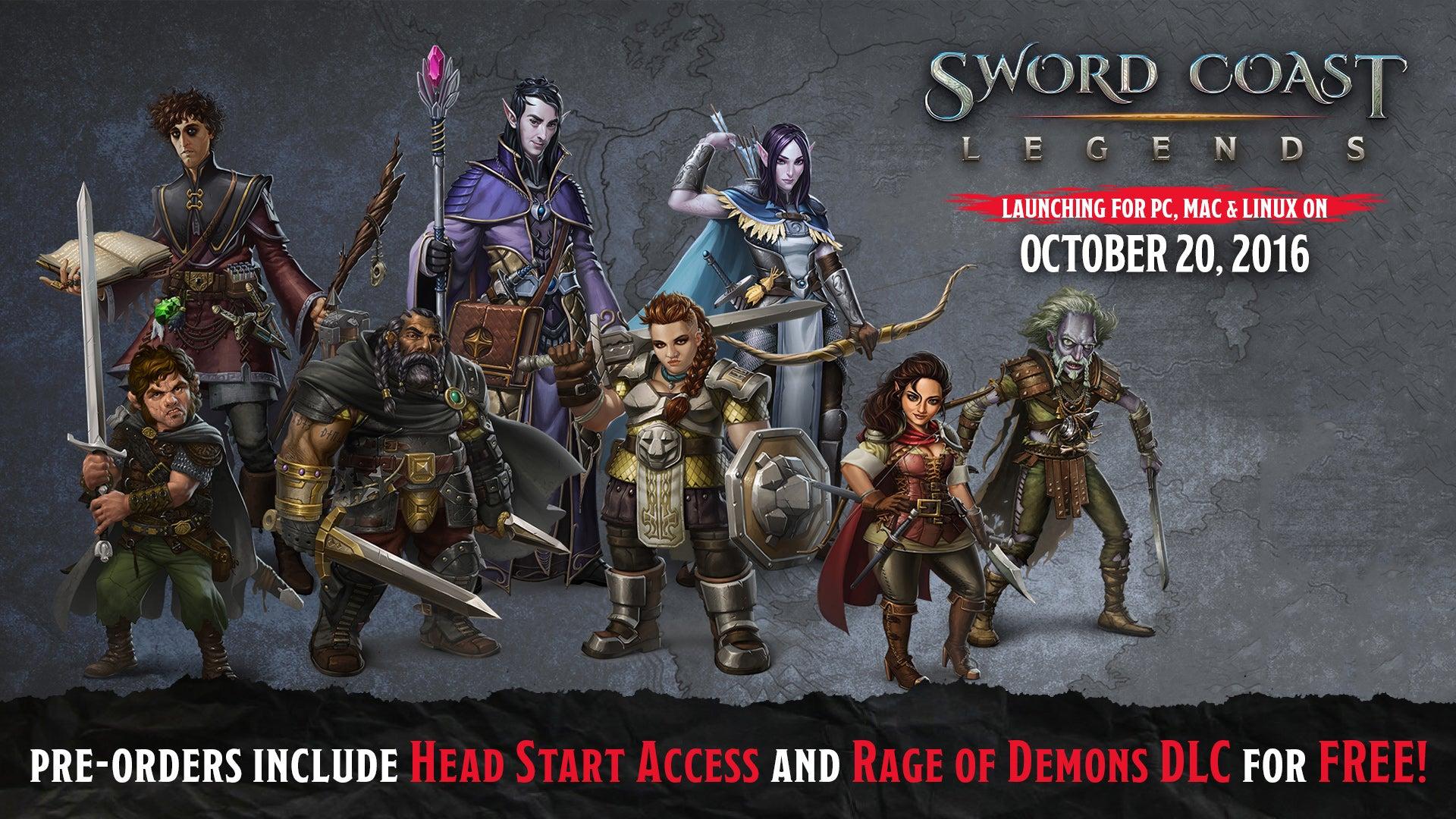 Sword Coast Legends Delayed
