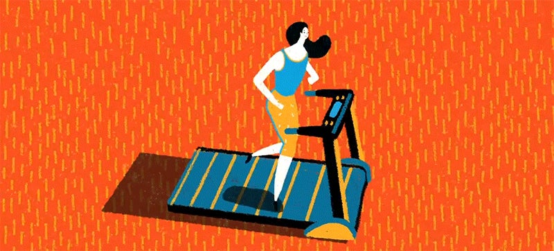 The history of the treadmill reveals that it was basically a torture device