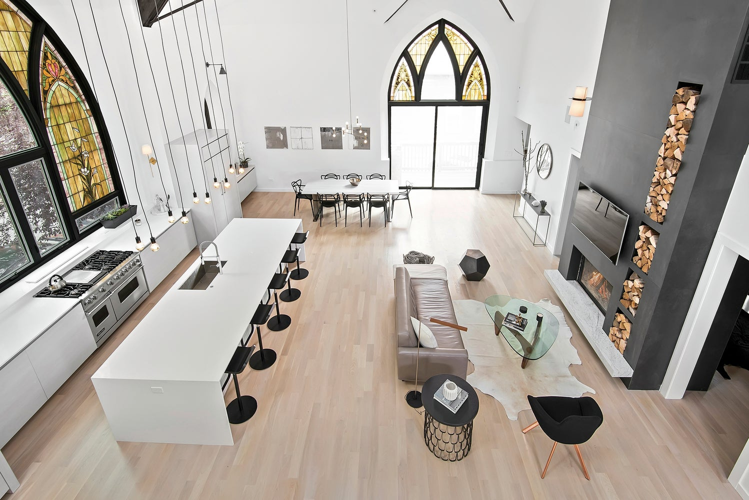 I Would Actually Go To This Converted Church Home