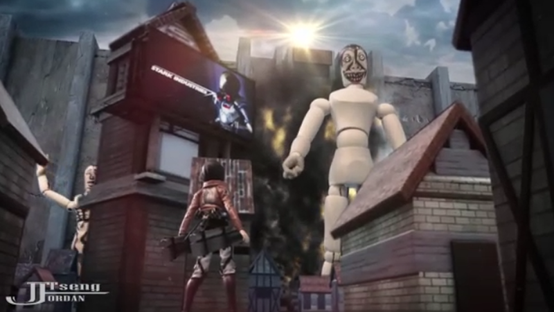 Wooden Mannequins Destroy Everything In Attack on Titan Fan Film