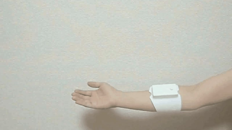 What Does Virtual Reality Feel Like? This Muscle-Stimulating Arm Band Will Show You