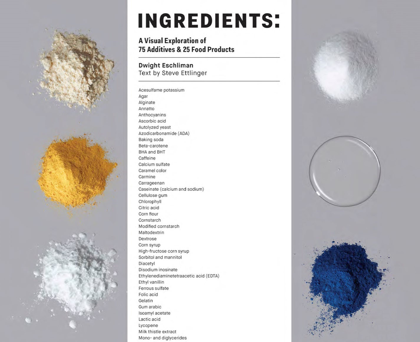 These are the ingredients and additives inside your favourite foods