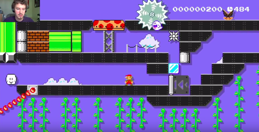 I've Spent Two Days Trying To Escape This Hellish Mario Maker Maze