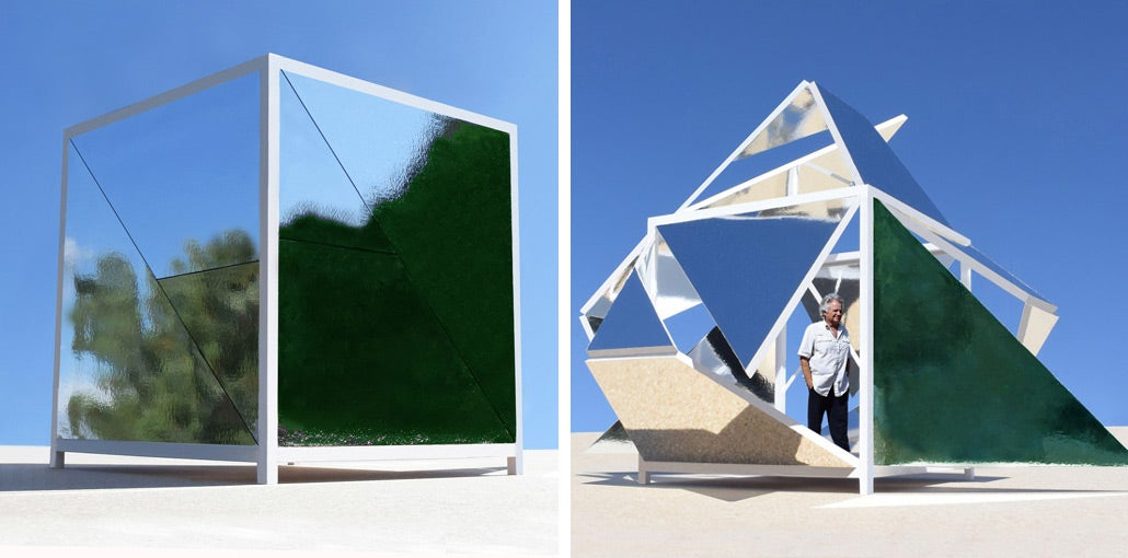 This Mirrored Pavilion Is A Space For Mind-Bending Personal Reflection