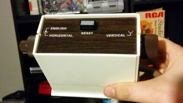 History Has Seen Some Weird-Arse Video Game Controllers