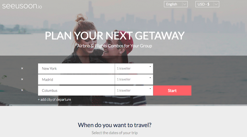 Seeusoon Helps You Find The Cheapest City To Meet For Group Travel