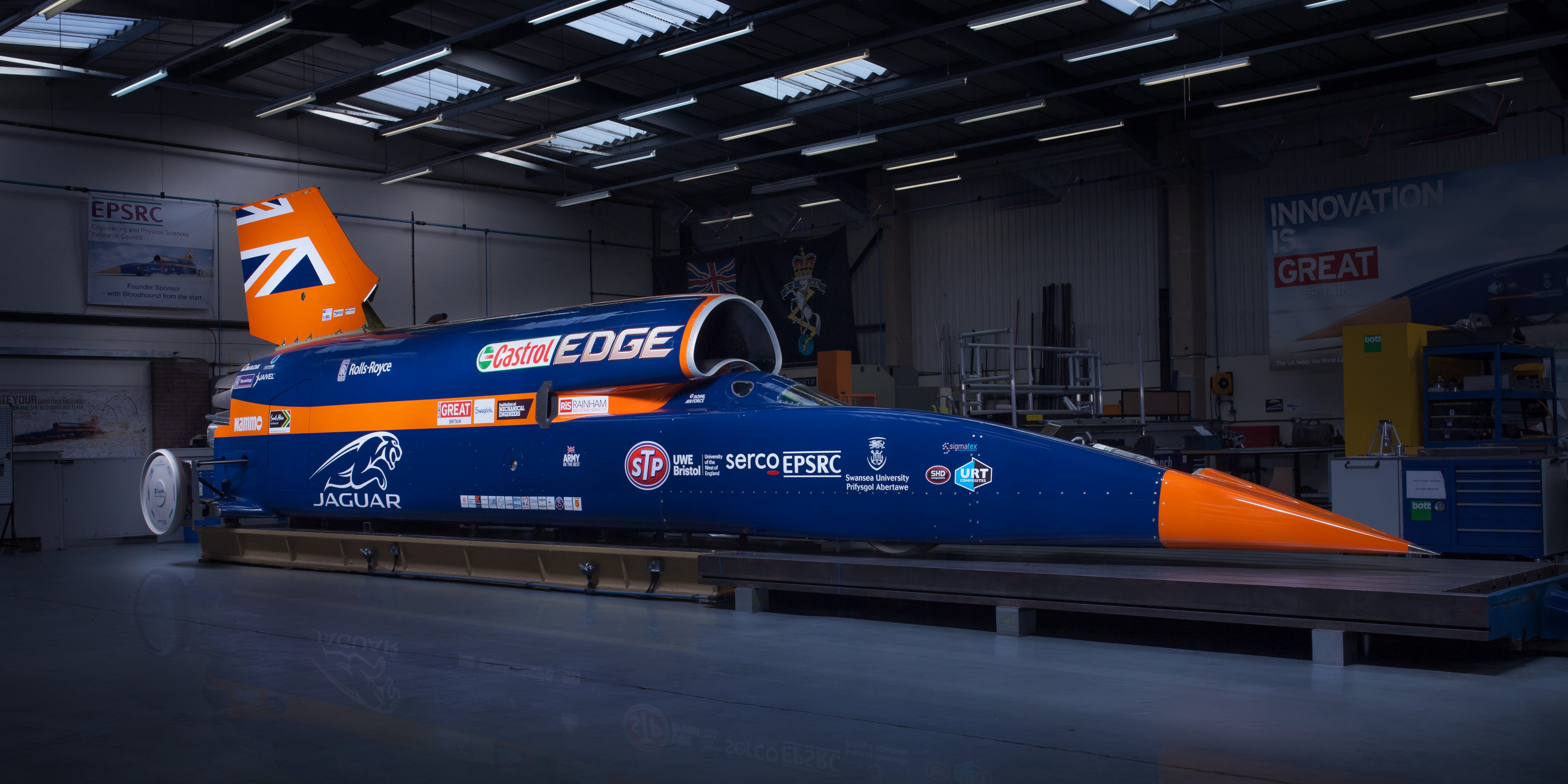 Inside The Engineering Of The World's First 1600KM/H Car